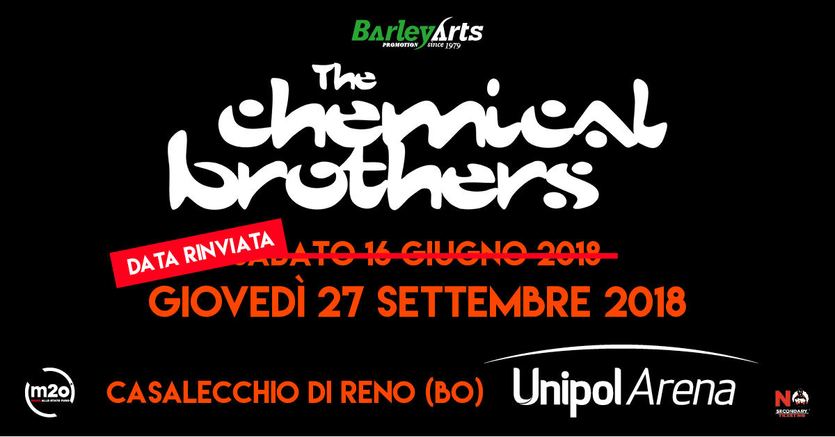 The Chemical Brothers Unipol Arena