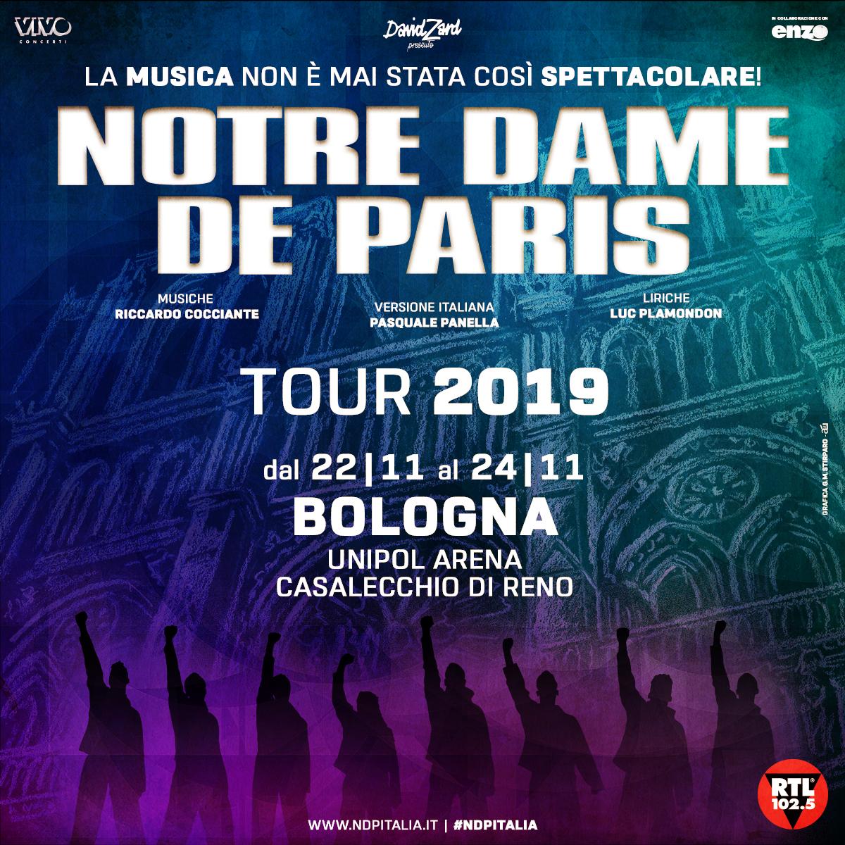 Notre Dame de Paris - Unipol Arena Bologna