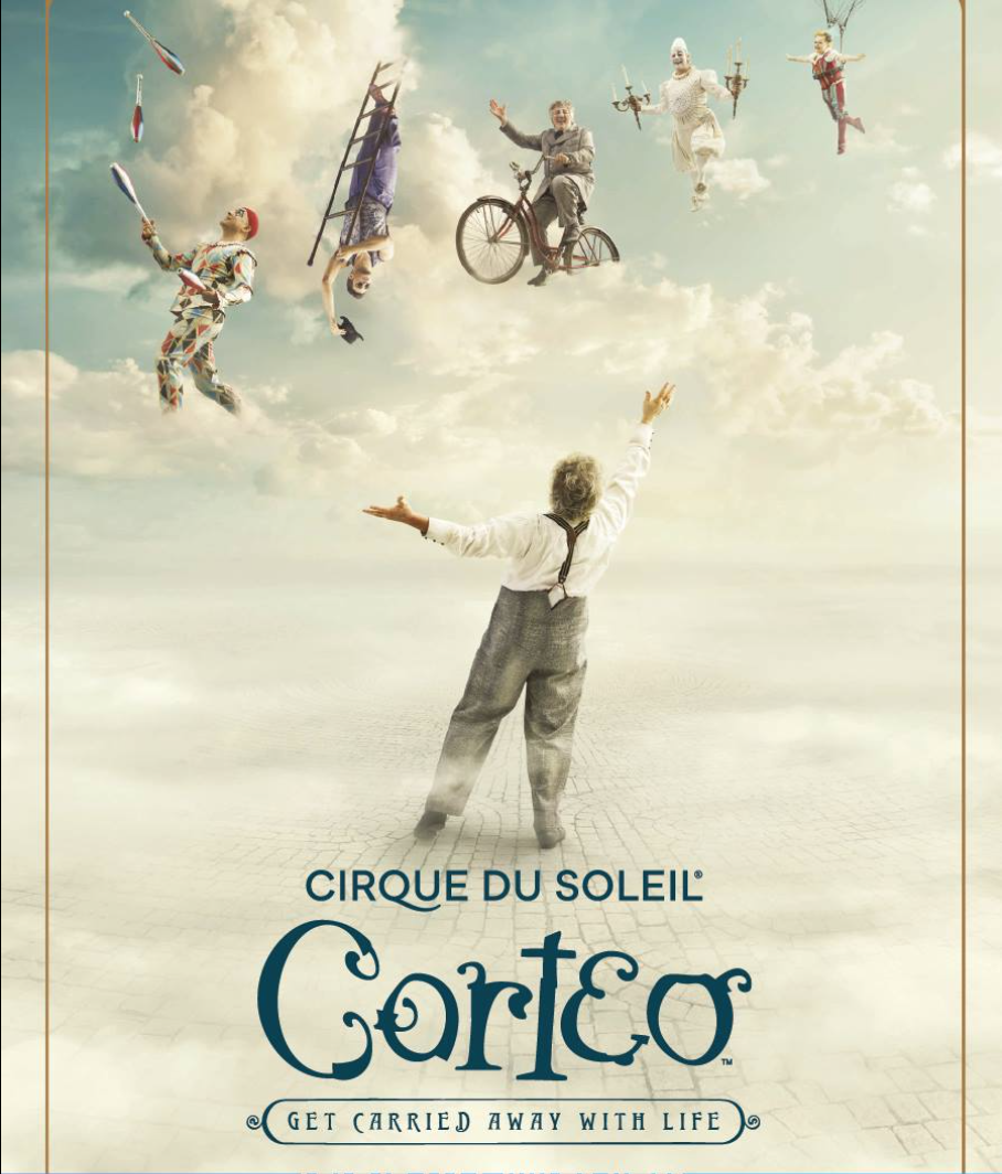 CORTEO: CIRQUE DU SOLEIL - Unipol Arena Bologna